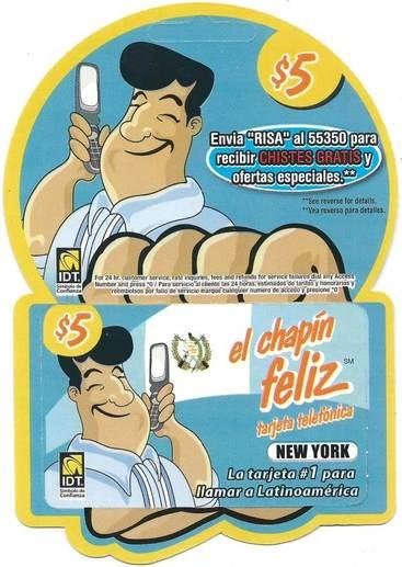 El Chapin Feliz $5