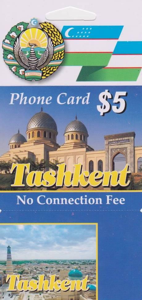 Tashkent $5 — mobile 80m