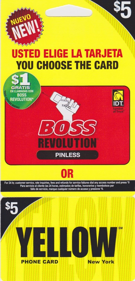 Yellow – Boss Revolution $2