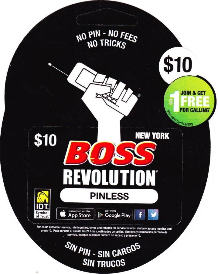 Boss Revolution $10