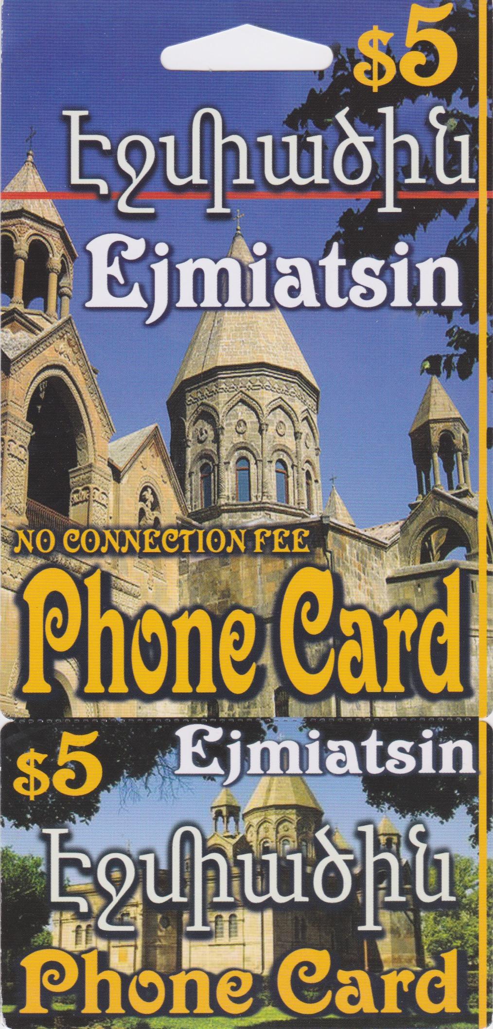 Ejmiatsin$5 — Armenia