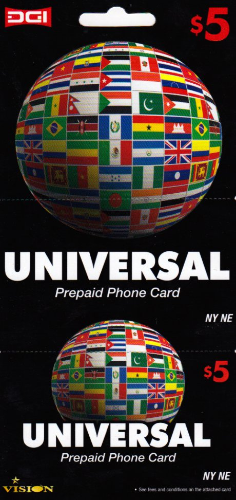 Europa phone card  $5