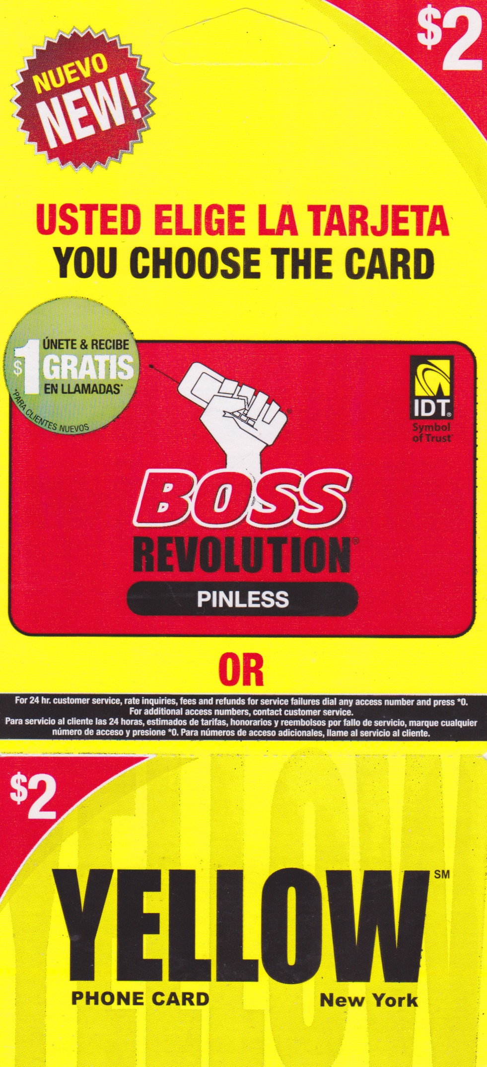 Yellow — Boss Revolution $2